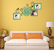 Fashion Personality Style Frame Wall Clock