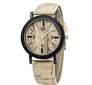 Fashion Luxury Vintage Watch 4 Color Wood Grain Wristwatches Casual Bracelet Watch Outdoor Sports Men Women Watches