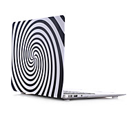 Vortex Style PC Materials Water Stick Flat Shell For MacBook