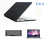 """3 in 1 Ganzkörper harte Fälle mit Tastaturabdeckung und HD Display Schutz für MacBook Air 13,3 """"(verschiedene Farben)"""