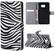 Zebra Pattern PU Leather Hard Case with Stand for Samsung Galaxy Note 5/ Note 5 Edge/ Note 4 / Note 3/ Note 2