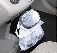 venta al por mayor de rack basura portátil colgante plegable multifuncional recibir bolsa de basura vehículo gancho estante que cuelga