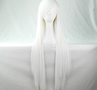 produits bon marché perruque synthétique lolita cosplay perruque Anime Perruques 80cm longues perruques droites