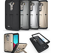 LG G4 Silicone / TPU Full Body Cases / Cases with Stand Special Design case cover