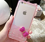 Take Bowknot Silica Gel Pattern Back Case for iphone6 Plus (Assorted color)