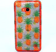 Small pineapple Pattern TPU Soft Case for Nokia Microsoft Lumia 640