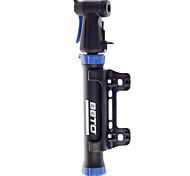 bicicleta bicicleta bicicleta de mini protable bomba de aire de la aleación de aluminio reforzado negro con azul