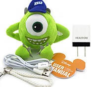 Disney Mike Plush Cotton Doll Power Bank External Battery For Iphone Samsung And Any USB Device