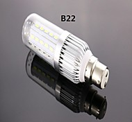 8W B22 LED Corn Lights T 42 SMD 5730 800 lm Cool White AC 85-265 V