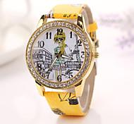 2015 chegam novas forma de quartzo relógio mulheres relógios de pulso de relógio de bronze reloj mujer cupão dropshipping meninas studentx