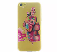 Color Image Pattern Ultrathin Hard Back Cover Case For iPhone 5C