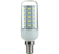e14 3.5W 350lm 6500k 36-SMD 5730 llevó la lámpara fresca de maíz de luz blanca (220v ~ 240v)