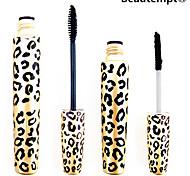 2pcs leopardo impermeabile set occhio espansione sferza allungamento di curling mascara (1 mascara +1 fibre)