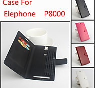 Flip Leather Magnetic Protective Case For Elephone P8000(Assorted Colors)