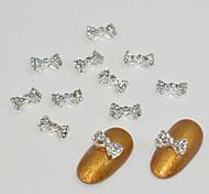 10pcs An Alloy of Diamond Studded With Diamonds  Nail Art Decoration
