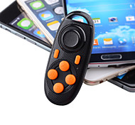 Multi-Functional Bluetooth V3.0 Self-Timer / Game Controller for iPhone / Samsung / Sony – Black + Orange