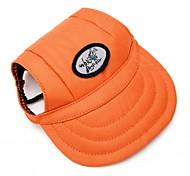 Katzen / Hunde Kopftücher & Hüte Orange Hundekleidung Frühling/Herbst Sport Leopardenmuster