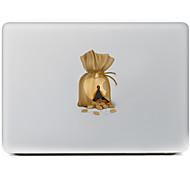 el grano adhesivo decorativo para macbook air / pro / pro con pantalla de retina