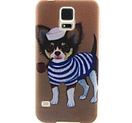 Smoke Generation Dog Pattern Soft Case for Sumsang Galaxy S5Mini/S5/S4/S3/S3mini/S4mini/S6/S6edge