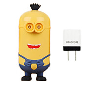 Disney Minion 10000mAh Power Bank External Battery For Iphone ,Samsung And Any USB Device