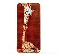 Giraffe Feel Thin TPU Case for iphone 6