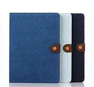 8 inch cowboy graan patroon pu portemonnee lederen tas met standaard voor Samsung Galaxy Tab een 8,0 sm-T350 / T351