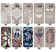 2015 New Arrival painting Hard PC Phone cover for samsung galaxy S6 Edge/S6 Case