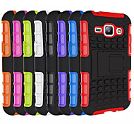 Heavy Duty Hybrid Case Impact Rugged Silicone PC Armor Cover Case For Samsung Galaxy CORE Prime G360/J1/Ace 4 G313