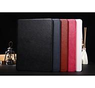 cubierta elegante de la caja de cuero de la PU delgada zapatero de lujo de pie para el aire de Apple IPAD (colores surtidos)
