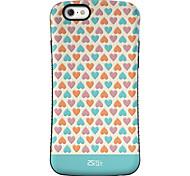 amor está em toda parte padrão pc + TPU resistência à queda shell telefone para iphone 6