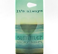 Sea Pattern TPU Material  Phone Case for Sony Xperia M2