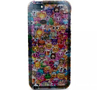 Lovely Face Pattern Glitter TPU Cell Phone Soft Shell For iPhone 5/5S