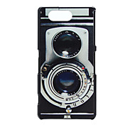 Camera Pattern PC Hard Case for Sony Xperia Z3 Compact/Z3 mini