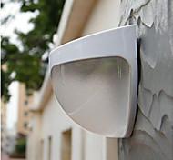 солнечный свет PIR датчик движения стены сада лестницы забор светодиодные лампы белого