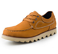 Men's Shoes Outdoor/Office & Career/Casual Suede Oxfords Brown/Yellow