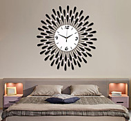 Modern Water-drop Pattern Iron Wall Clock