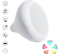Stylepie Chocolight Bluetooth Speaker with Changeable Colorful LED Light/Smart-touch Control/Hand-free/Gravity Control