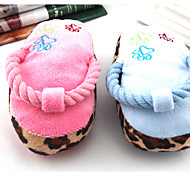 Belfor Lovely Slipper Chew Toy for Small Dogs (Random Color)