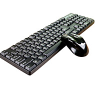 Jeway JK-8223 2.4G wireless mouse and keyboard combos Portuguese keyboard