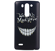 Were Ah Mad Here Pattern PC Hard Case for LG G3 Mini/LG G3 Beat