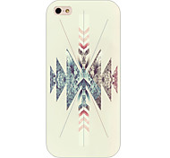 Ultrasonic Pattern Phone Back Case Cover for iPhone5C