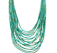 Multilayers Long Beads Necklace
