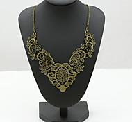 Женский Заявление ожерелья Кристалл Стразы Искусственный бриллиант 18K золото Австрийские кристаллы Мода европейский бижутерия Бижутерия