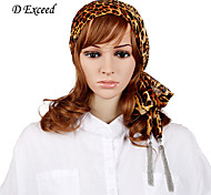 D Exceed Fashion Shawls And Scarves Leopard Print Chiffon Spring Tassels Scarf Necklaces For Women