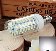 e14 6w 750lm 6500k / 3500k 69-SMD 5730 llevó blanco / caliente de la lámpara de maíz de luz fría (220v ~ 240v)