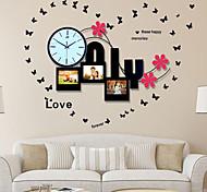 Contemporary Style Mute Iron Wall Clock
