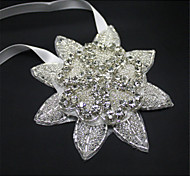 2015 Bride Headdress Petal Shape Headdress Pearl Hairpins Wedding 1pc New and Fashion Hot Sale