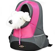 Кошка Собака Переезд и перевозные рюкзаки Животные Корзины Компактность Дышащий Желтый Красный Зеленый Синий