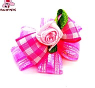 Dog Hair Accessories Spring/Fall - Pink - Wedding / Cosplay - Mixed Material
