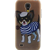 modello cucciolo materiale TPU soft phone per mini i9190 Samsung Galaxy S4
